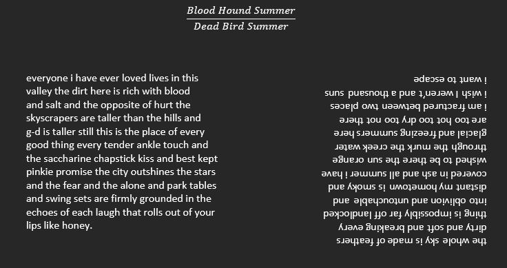 Blood Hound Summer